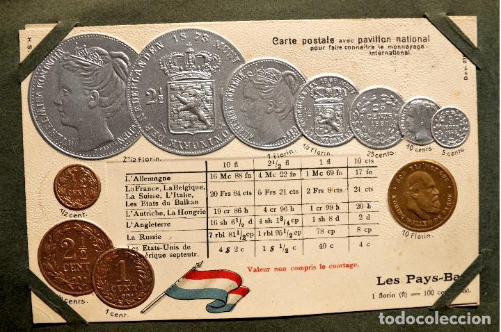 Postales: MONEDAS DE TODOS LOS PAISES 1920 COLECCIÓN 44 CARTA POSTAL GOFRADAS CATALOGO NUMISMÁTICO - Foto 26 - 103162071