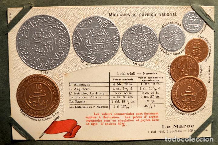 Postales: MONEDAS DE TODOS LOS PAISES 1920 COLECCIÓN 44 CARTA POSTAL GOFRADAS CATALOGO NUMISMÁTICO - Foto 28 - 103162071