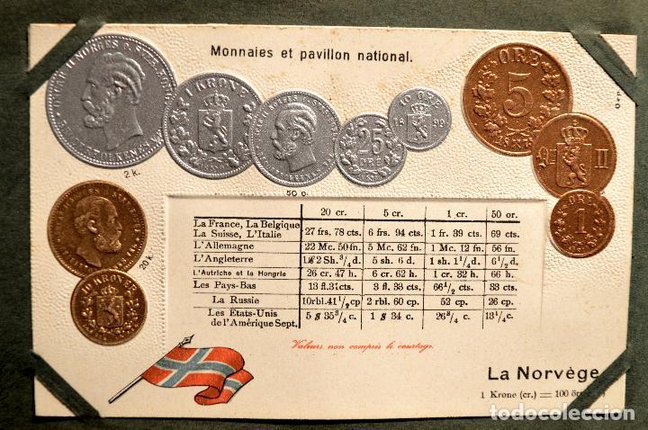 Postales: MONEDAS DE TODOS LOS PAISES 1920 COLECCIÓN 44 CARTA POSTAL GOFRADAS CATALOGO NUMISMÁTICO - Foto 30 - 103162071