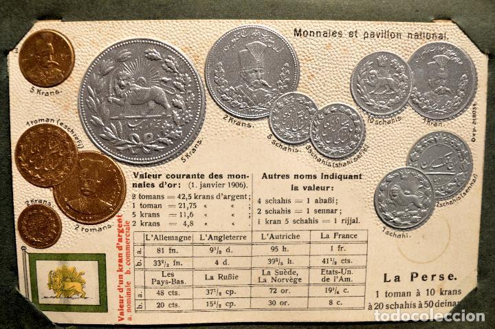 Postales: MONEDAS DE TODOS LOS PAISES 1920 COLECCIÓN 44 CARTA POSTAL GOFRADAS CATALOGO NUMISMÁTICO - Foto 31 - 103162071