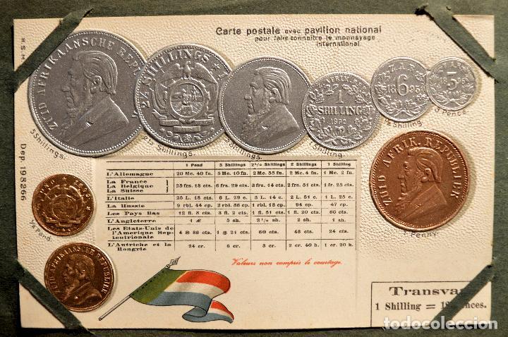 Postales: MONEDAS DE TODOS LOS PAISES 1920 COLECCIÓN 44 CARTA POSTAL GOFRADAS CATALOGO NUMISMÁTICO - Foto 36 - 103162071