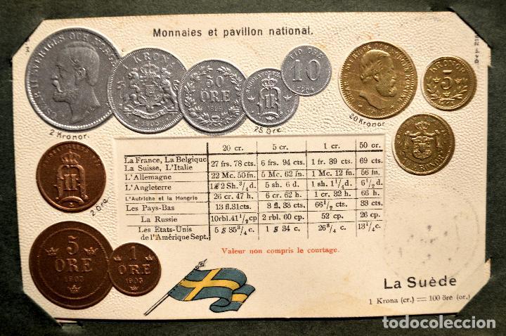 Postales: MONEDAS DE TODOS LOS PAISES 1920 COLECCIÓN 44 CARTA POSTAL GOFRADAS CATALOGO NUMISMÁTICO - Foto 38 - 103162071