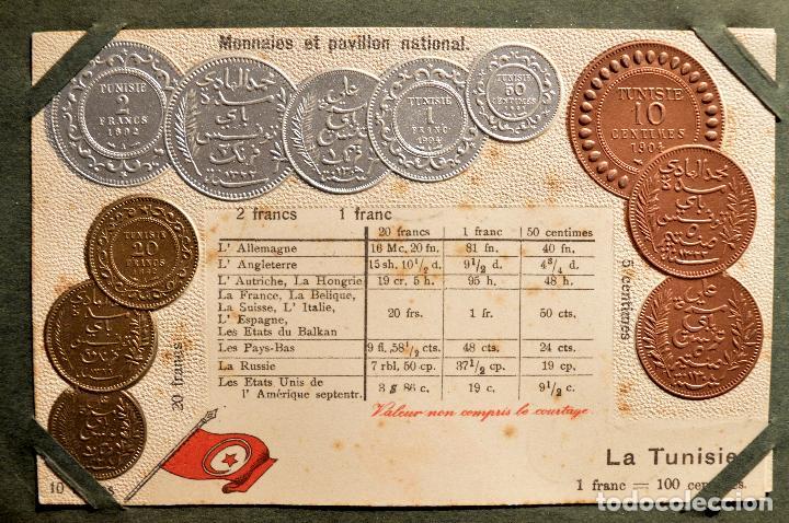 Postales: MONEDAS DE TODOS LOS PAISES 1920 COLECCIÓN 44 CARTA POSTAL GOFRADAS CATALOGO NUMISMÁTICO - Foto 39 - 103162071