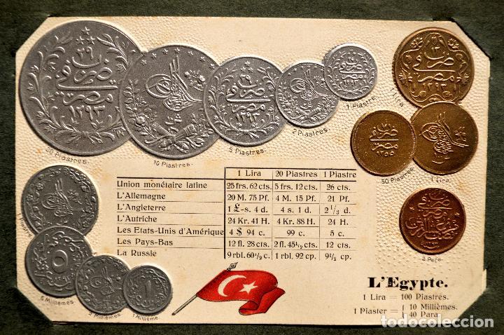 Postales: MONEDAS DE TODOS LOS PAISES 1920 COLECCIÓN 44 CARTA POSTAL GOFRADAS CATALOGO NUMISMÁTICO - Foto 40 - 103162071