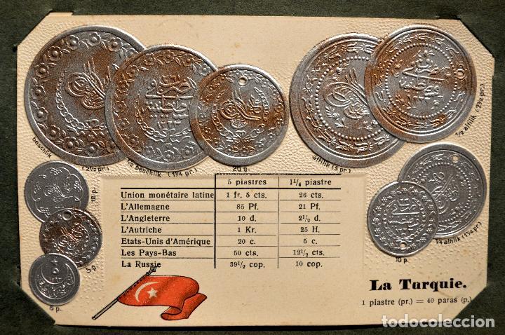 Postales: MONEDAS DE TODOS LOS PAISES 1920 COLECCIÓN 44 CARTA POSTAL GOFRADAS CATALOGO NUMISMÁTICO - Foto 42 - 103162071