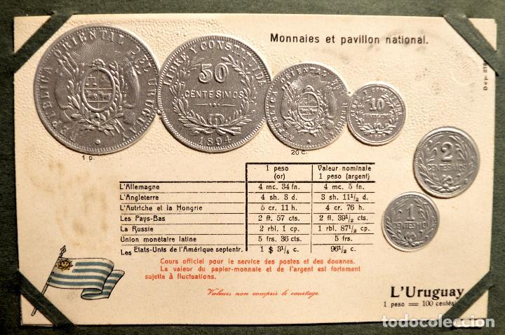 Postales: MONEDAS DE TODOS LOS PAISES 1920 COLECCIÓN 44 CARTA POSTAL GOFRADAS CATALOGO NUMISMÁTICO - Foto 43 - 103162071