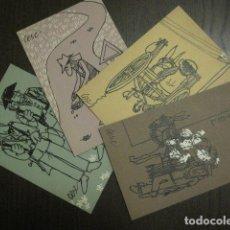 Postales: CESC - LOTE 4 POSTALES - VER REVERSO - (63.908). Lote 182509033