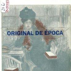 Postales: (PS-54473)POSTAL ILUSTRADA POR RAMON CASAS. Lote 109479599