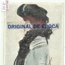 Postales: (PS-54475)POSTAL ILUSTRADA POR RAMON CASAS. Lote 109479767