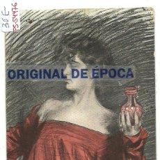 Postales: (PS-54476)POSTAL ILUSTRADA POR RAMON CASAS - PARFUMERIE AUX FLEURS. Lote 109479967