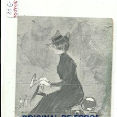 Postales: (PS-54478)POSTAL ILUSTRADA POR RAMON CASAS. Lote 109480183