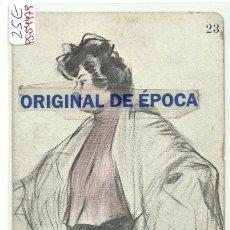 Postales: (PS-54479)POSTAL ILUSTRADA POR RAMON CASAS - INAGURACION HISPANIA BARCELONA 15 MAYO 1902. Lote 109480319