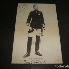 Postales: ALFONSO XIII REY DE ESPAÑA POSTAL 1905. Lote 110050703