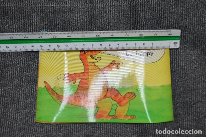 Postales: LOTAZO DE 8 POSTALES ESTEREOSCÓPICAS - DIBUJOS DE DINOSARURIOS - HAZ OFERTA - SIN CIRCULAR - Foto 8 - 112463287