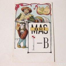 Postales: POSTAL CALLEJA DE LA SERIE DE 50 POSTALES DE JEROGLÍFICOS Nº 363. Nº 13. Lote 112522223