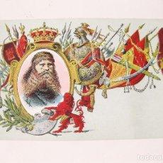 Postales: POSTAL CALLEJA DE LA SERIE DE REYES. TURISMUNDO Nº 96. Lote 112523111