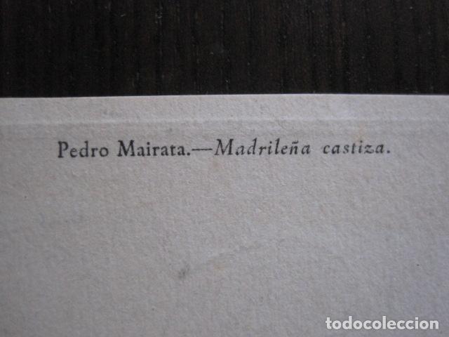 Postales: POSTAL ANTIGUA - MADRILEÑA CASTIZA - ILUSTRADA POR MAIRATA-VER REVERSO - (51.902) - Foto 3 - 112557655