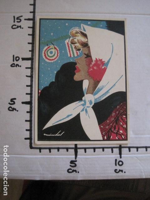 Postales: POSTAL ANTIGUA - MADRILEÑA CASTIZA - ILUSTRADA POR MAIRATA-VER REVERSO - (51.902) - Foto 4 - 112557655