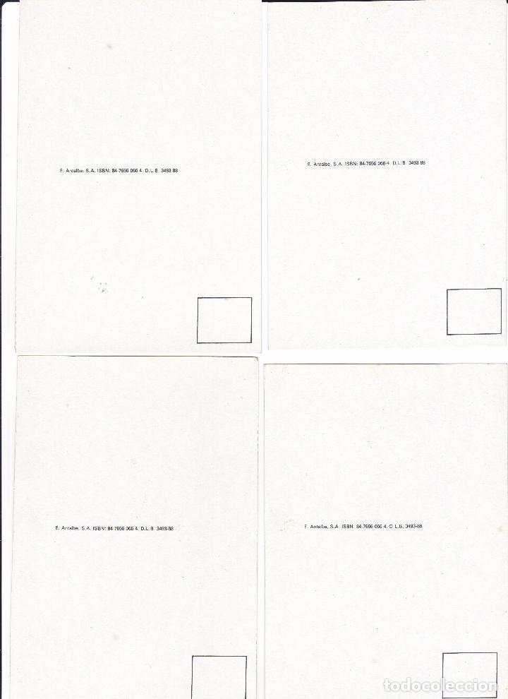 Postales: COLECCION 23 POSTALES REPRODUCCION SERIE MODERNISTA BAILE DE MASCARAS TEATRO JULIAN ROMEBA 15X10CM - Foto 7 - 113839659
