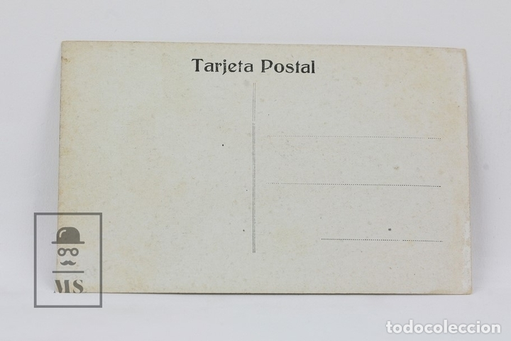 Postales: Antigua Postal Ilustrada - Retrato Mujer Con Sombrero - Ed. ? - Años 20 - Foto 2 - 115093588