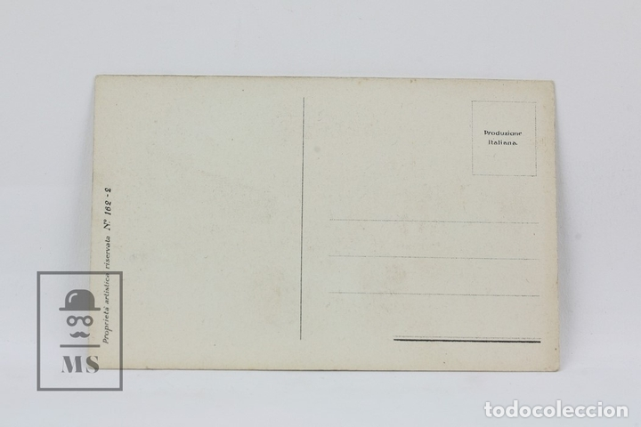 Postales: Antigua Postal Ilustrada - Retrato Enamorados Nº 162-2 / T. Corbella - Ed. ? - Años 20 - Foto 2 - 115093667