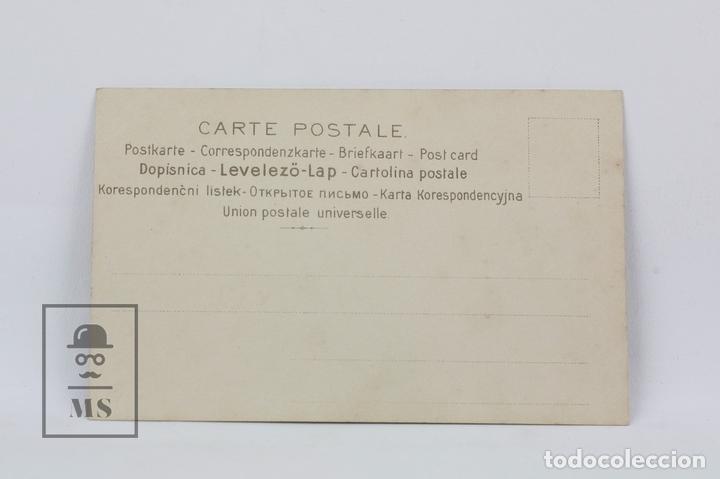 Postales: Antigua Postal Ilustrada - Retrato Mujer Serie 543 Nº 6 - Ed. J.P.W - Años 20 - Foto 2 - 115093680