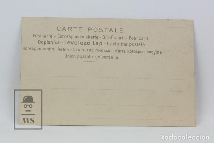 Postales: Antigua Postal Ilustrada - Retrato Mujer Con Sombrero Serie 543 Nº 2 - Ed. J.P.W - Años 20 - Foto 2 - 115093715