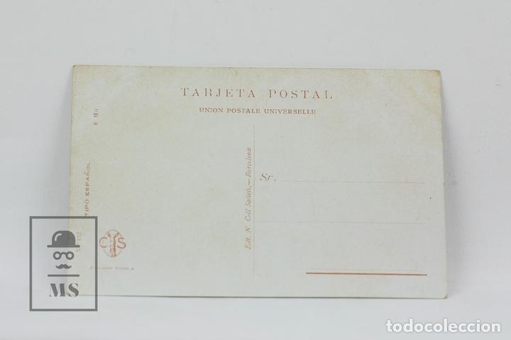 Postales: Antigua Postal Ilustrada - Retrato Mujer Con Collar Nº 132 / R. Mir - Ed. Victoria - Años 20 - Foto 2 - 115093823