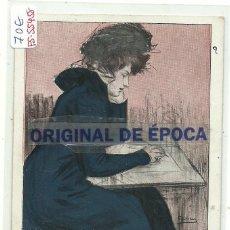 Postales: (PS-55458)POSTAL ILUSTRADA POR R.CASAS-COMMEMORATIVE DE LA CONSTITUCION DE LA SOCIEDAD CARTOFILA ESP. Lote 115098627