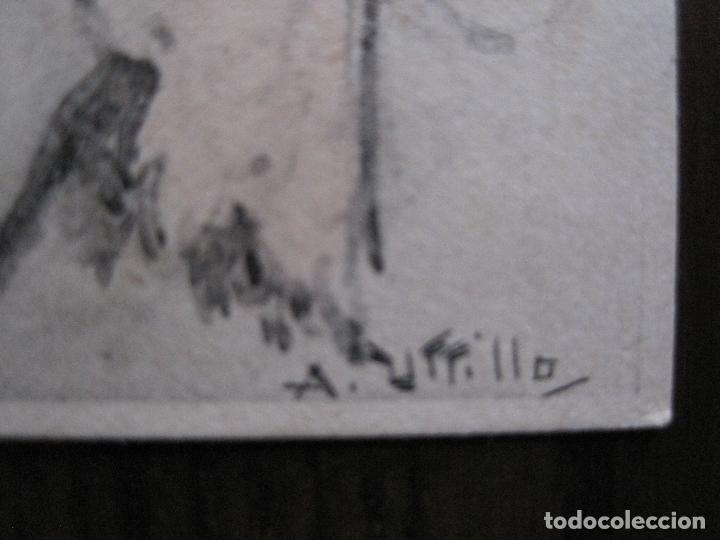 Postales: UTRILLO - MEDIANA ARAGON - POSTAL ANTIGUA - REVERSO SIN DIVIDIR -VER FOTOS-(52.399) - Foto 2 - 117049415