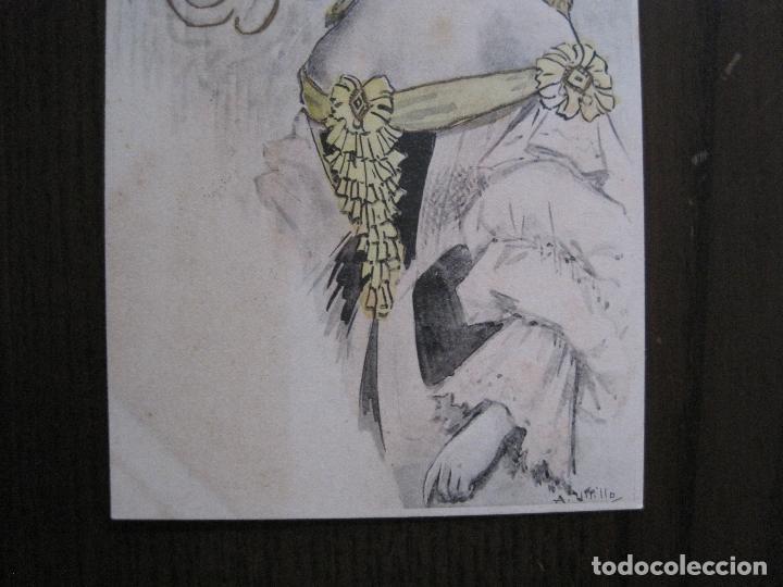 Postales: UTRILLO - MEDIANA ARAGON - POSTAL ANTIGUA - REVERSO SIN DIVIDIR -VER FOTOS-(52.399) - Foto 4 - 117049415