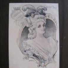 Postales: UTRILLO - MEDIANA ARAGON - POSTAL ANTIGUA - REVERSO SIN DIVIDIR -VER FOTOS-(52.400). Lote 117049491