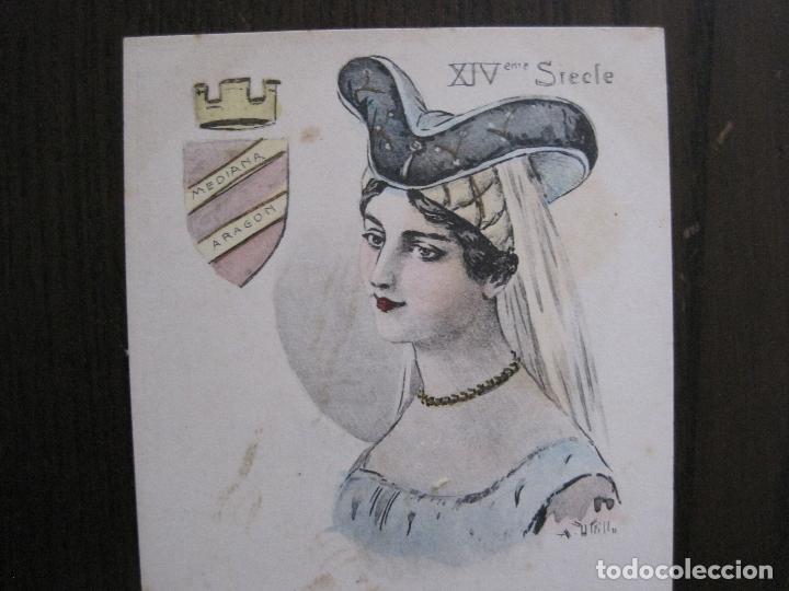 Postales: UTRILLO - MEDIANA ARAGON - POSTAL ANTIGUA - REVERSO SIN DIVIDIR -VER FOTOS-(52.406) - Foto 3 - 117050155
