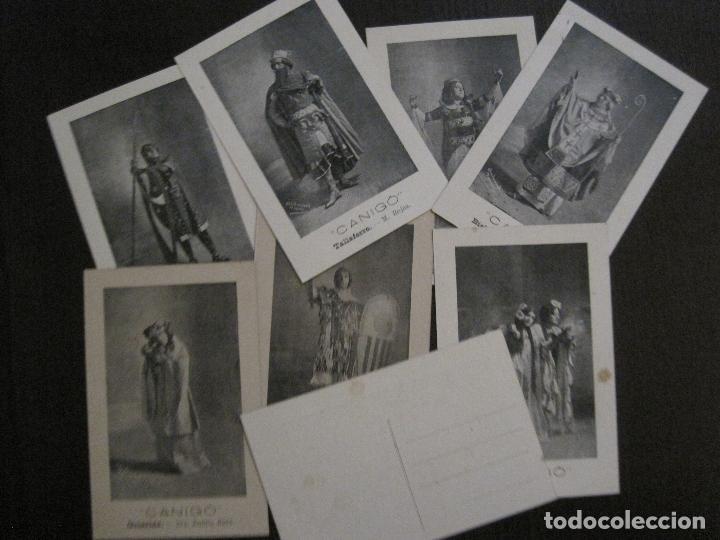 POSTAL ANTIGA - COL.LECCIO 8 POSTALS CANIGO - TEATRE -VER FOTOS -(52.617) (Postales - Postales Temáticas - Especiales)