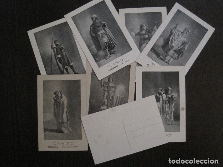 Postales: POSTAL ANTIGA - COL.LECCIO 8 POSTALS CANIGO - TEATRE -VER FOTOS -(52.617) - Foto 3 - 117937283