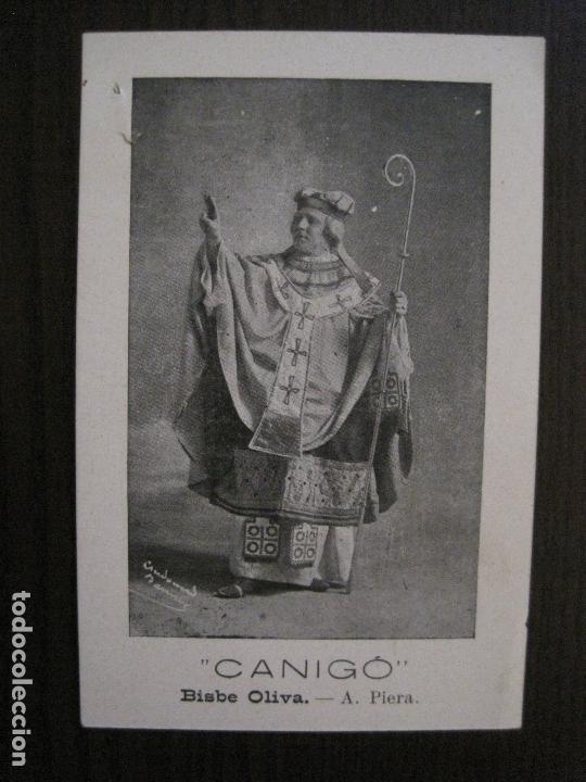 Postales: POSTAL ANTIGA - COL.LECCIO 8 POSTALS CANIGO - TEATRE -VER FOTOS -(52.617) - Foto 4 - 117937283