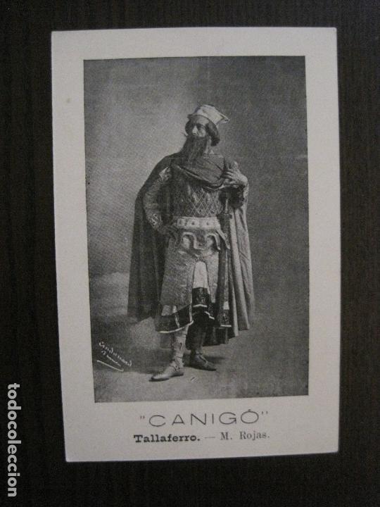 Postales: POSTAL ANTIGA - COL.LECCIO 8 POSTALS CANIGO - TEATRE -VER FOTOS -(52.617) - Foto 8 - 117937283