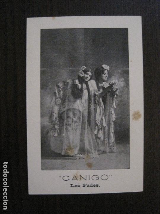 Postales: POSTAL ANTIGA - COL.LECCIO 8 POSTALS CANIGO - TEATRE -VER FOTOS -(52.617) - Foto 12 - 117937283