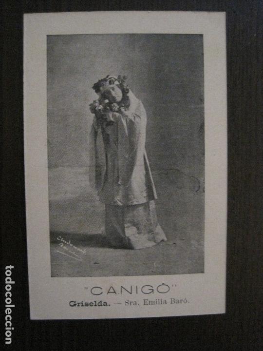 Postales: POSTAL ANTIGA - COL.LECCIO 8 POSTALS CANIGO - TEATRE -VER FOTOS -(52.617) - Foto 16 - 117937283