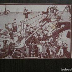 Postales: POSTAL ANTIGUA - PUBLICIDAD LIBRERIA NAUTICA - S.S. ISAR & H. -VER FOTOS -(52.647). Lote 117942335