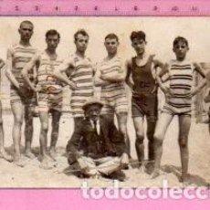 Cartes Postales: POSTALES DE NADADORES DE REUS PLOMS FOTO EN SALOU . Lote 121851503