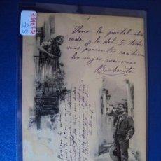 Postales: (PS-57137)POSTAL PELANDO LA PAVA-HAUSER Y MENET.ARCHIVOS BARONES OLLER. Lote 125106563