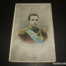 Postales: REY ALFONSO XIII 1905. Lote 128742763