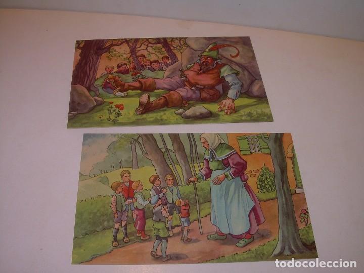 Postales: DOCE POSTALES DE CUENTOS INFANTILES...EN PERFECTO ESTADO DE CONSERVACION. - Foto 5 - 130362634