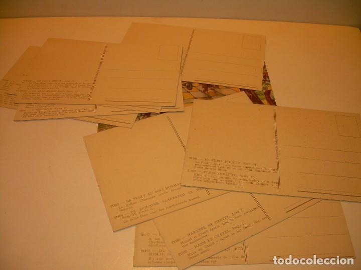 Postales: DOCE POSTALES DE CUENTOS INFANTILES...EN PERFECTO ESTADO DE CONSERVACION. - Foto 9 - 130362634