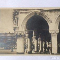 Postales: POSTAL VENECIA CON SELLO 1922 EXPOSICIÓN INTERNACIONAL DE ARTE DE VENECIA 1922. Lote 131605650
