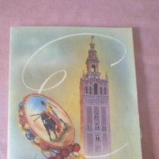 Postales: POSTAL SEVILLA. RELIEVE BAILAORA. 1954. Lote 131771390