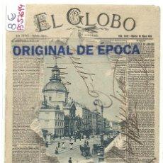 Postales: (PS-57694)POSTAL PERIODICO EL GLOBO. Lote 133463414