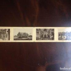 Postales: TARJETAS ILUSTRADAS - EDITOR GERHARD BLUMLEIN. LIBRITO DE CUATRO ALREDEDOR DEL AÑO 1900,. Lote 133853570