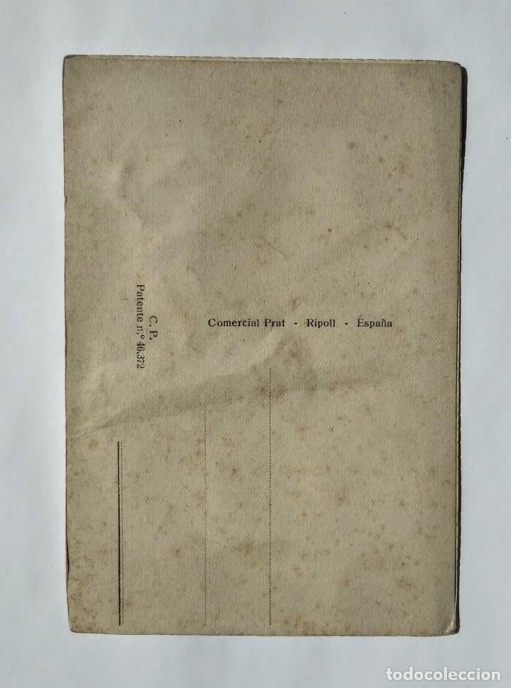 Postales: Postal bordada zapateando sevillana toros - Foto 2 - 135142406